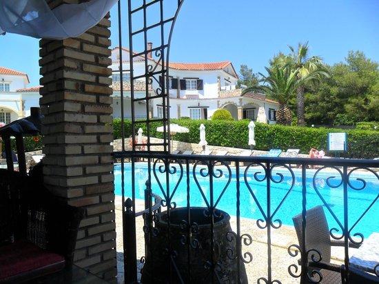 Balcony picture of anagenessis village hotel kalamaki for The balcony zante