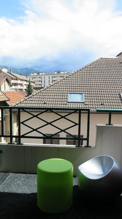 Ibis Styles Annecy Gare Centre : View from terrace