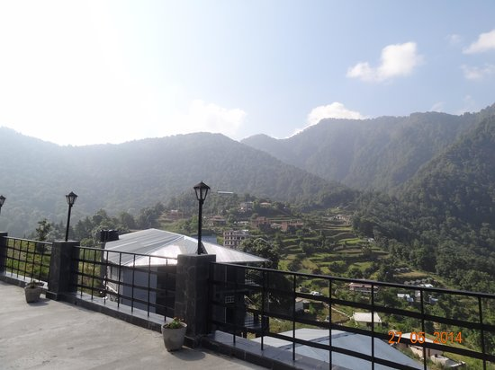 Ashoka's Naini Chalet Resort: View from Jungle Lodge Room