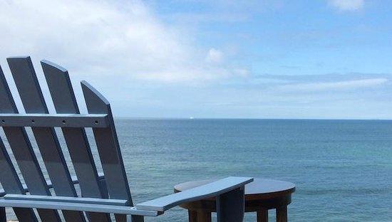 Le Landemer: Vue de la chambre face à la mer