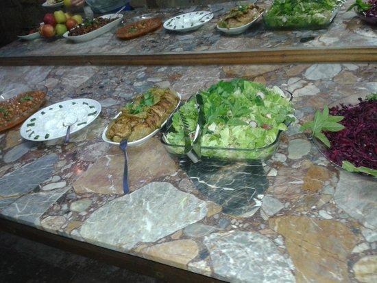 Melis Cave Hotel: Salads