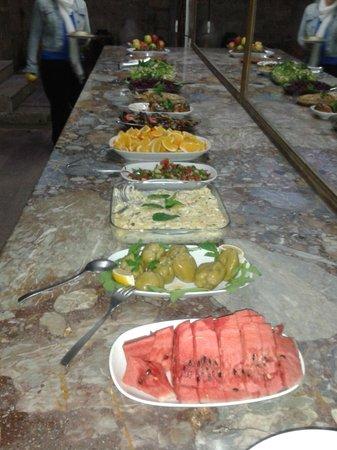 Melis Cave Hotel: Yummy food