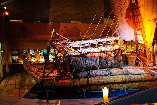 The Kon-Tiki Museum : Ra II from left