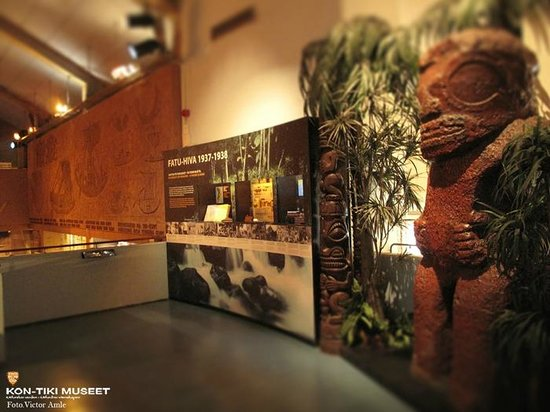 The Kon-Tiki Museum : Fatu-Hiva exhibition