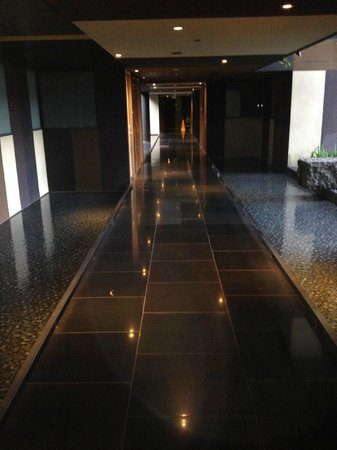 "Crowne Plaza Changi Airport: The ""Hallway"" on the third floor - Watch your step!"