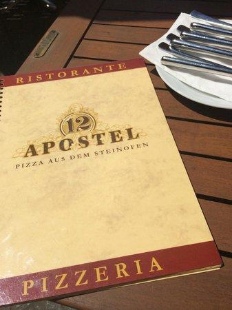 12 Apostel: Karte