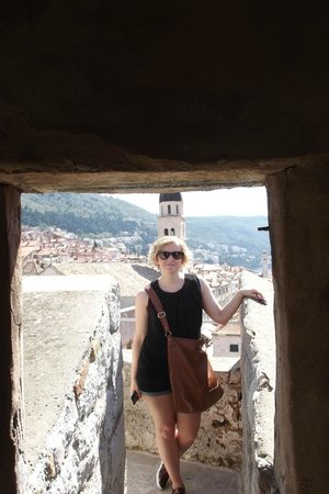 Franciscan Monastery: on the city walls
