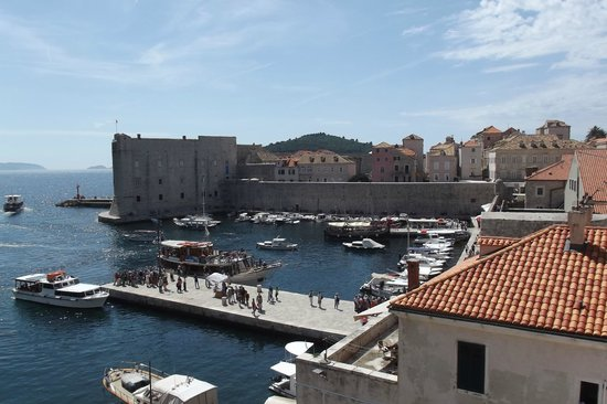 Franciscan Monastery: city harbour