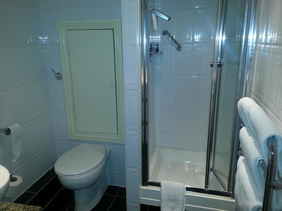 The Fleet Street Hotel: bagno