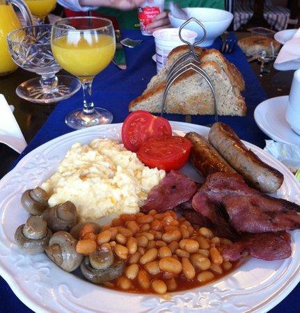 Dunlaverock Guesthouse: delicious breakfast