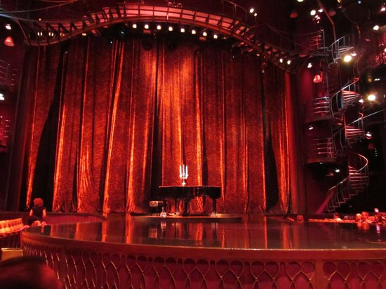 Zumanity - Cirque du Soleil : Just before the show