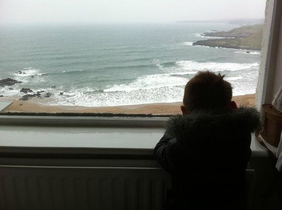 Dunlaverock Guesthouse: room with a view