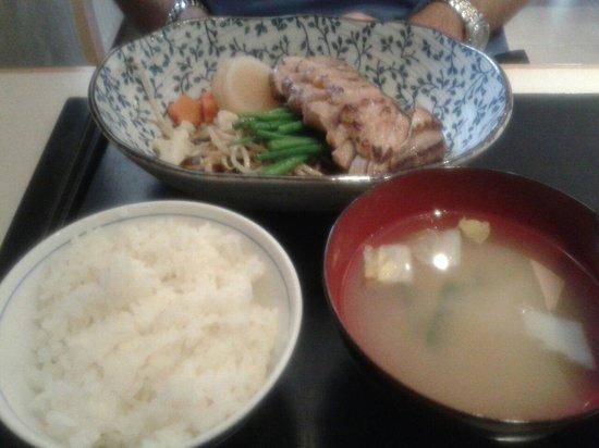 Restaurant IIDA-YA: Filet de canard mariné au miso cuit à la vapeur