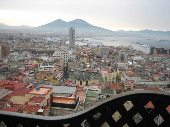 Hotel San Francesco al Monte: View from Bedroom window.