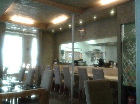 Restaurant IIDA-YA: La salle