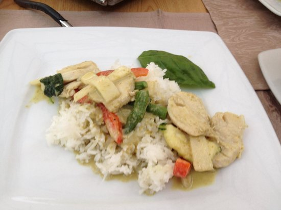 Thai Botanico: Green curry!