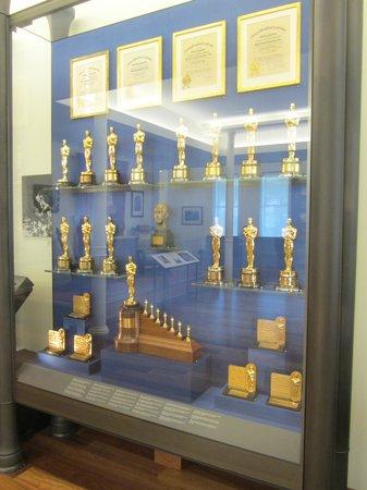 Walt Disney Family Museum: That's quite a trophy cabinet
