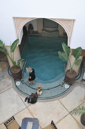 Angsana Riads Collection Morocco - Riad Bab Firdaus : Kleiner Pool im Eingangsgeschoss