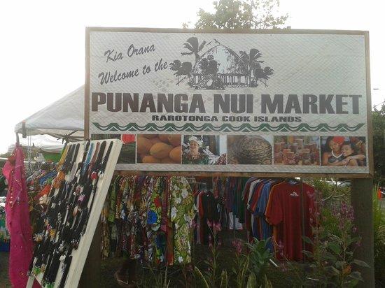 Punanga Nui: the market !