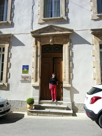 L'Hermitage : Our charming host