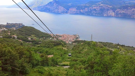 Monte Baldo: View from halfway