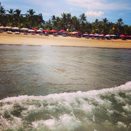 Legian Beach Hotel: Strand vorm Hotel