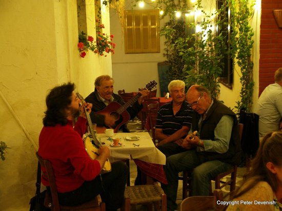 Taverna Alexandros: The players