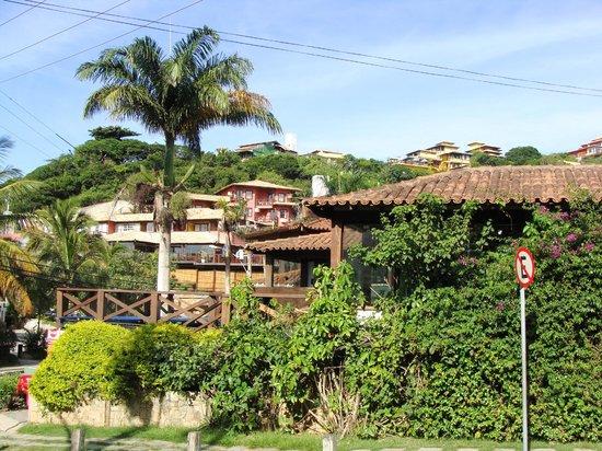 Rio Buzios Beach Hotel: Вид с балкончика отеля....