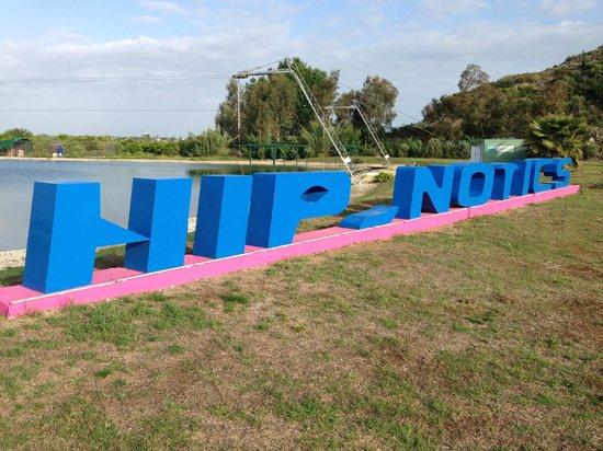 Hip-Notics Cable Ski: logo