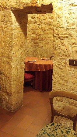 Corallo Eco Wellness Hotel: Trullo privato per cena