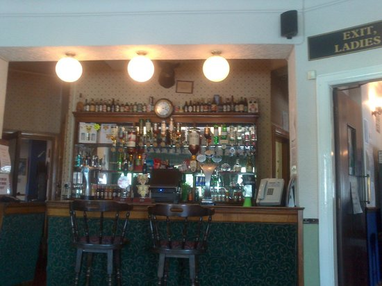Mancetter, UK: One of the bar areas in the Blue Boar