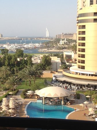 Le Royal Meridien Beach Resort & Spa: Room with a view