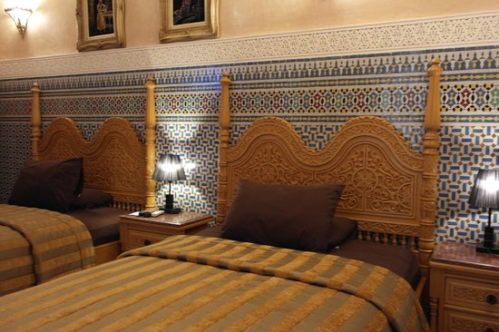 Dar Al Madina Al Kadima: Twin room