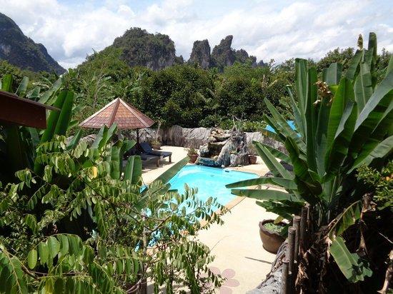 Morning Mist Resort : zwembad