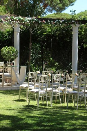 Quinta Jacintina Hotel: wedding ceremony