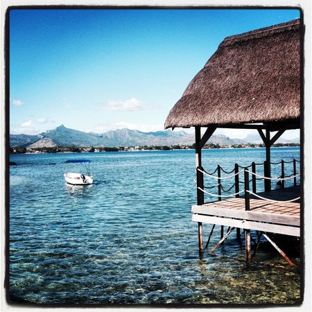 InterContinental Mauritius Resort Balaclava Fort: View towards Port Louis from the Boatshed