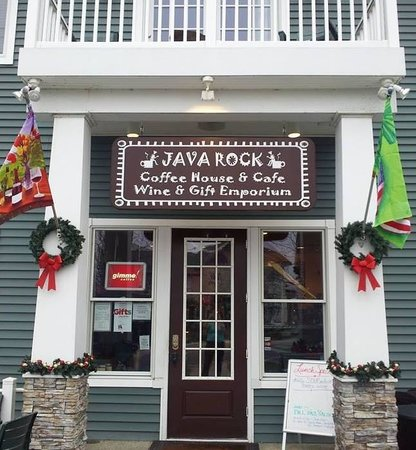 Java Rock: Best coffee place around!