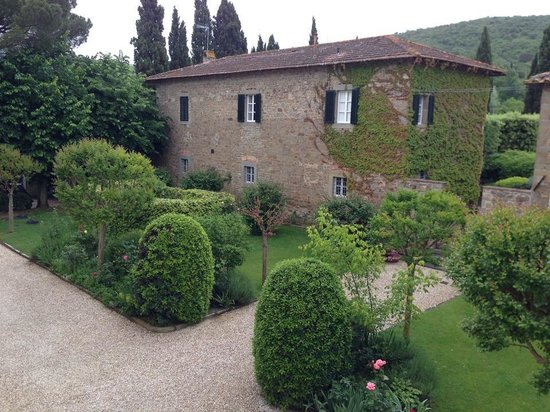 Villa di Piazzano : The property