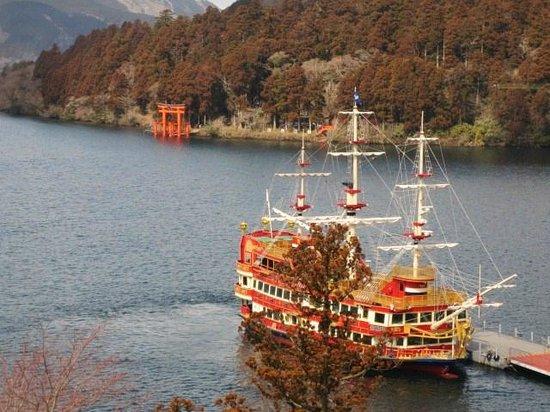 Narukawa Art Museum: 美術館から芦ノ湖
