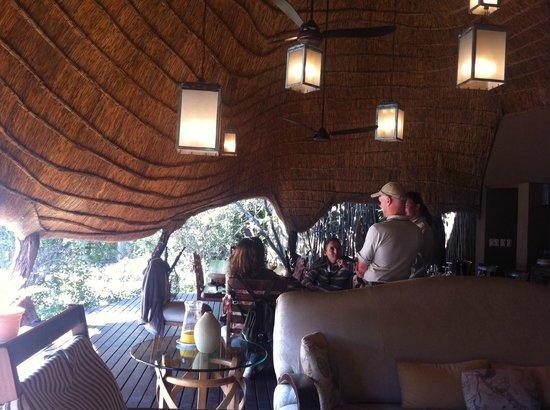 Zulu Camp: Zonas comunes