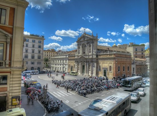 The St. Regis Rome: View from our of our rooms