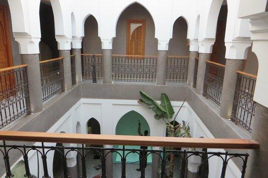 Riad Houma : interno del riad