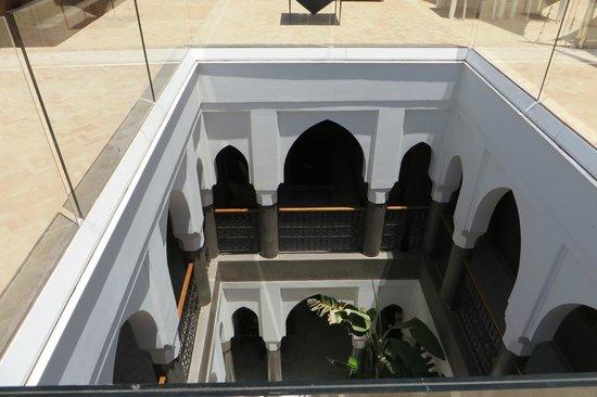 Riad Houma : vista dalla terrazza