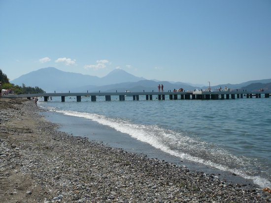 Club Tuana Fethiye: the beach
