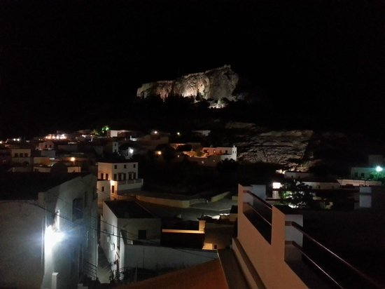Lindian Jewel Exclusive Apartments: Lindos castle