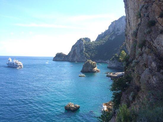 Capri Whales di Wendy: At a Cave in Capri