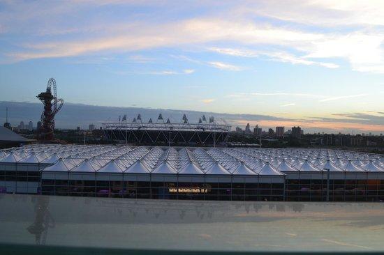 Westfield Stratford City : Vista Parco Olimpico