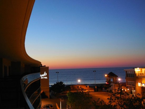 Atlantic Sands Hotel & Conference Center: Sunrise June 1st, 2014 from Balcony