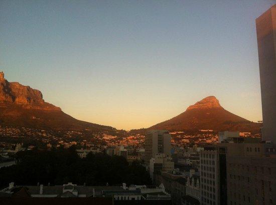 Taj Cape Town: Vistas desde la terraza