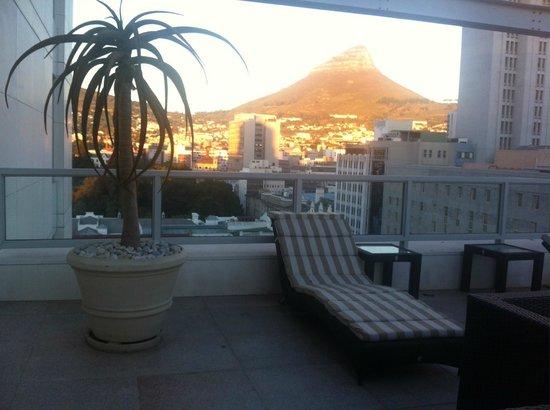 Taj Cape Town: Terraza de la habitación